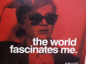 Warhol Desk Decorating post